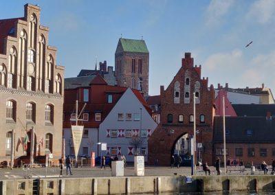 Blick auf die Altstadt/Wassertor